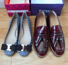 新买的两双鞋