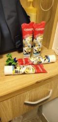 历时一个月美国海淘高露洁儿童牙膏安全送到