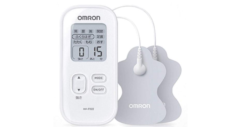 【日本亚马逊】OMRON欧姆龙 低周波按摩仪 HV-F022-V 两色可选 补货4121日元(约¥263)