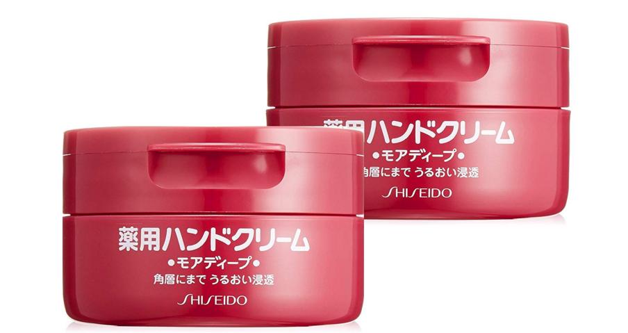 【日本亚马逊】资生堂 红罐尿素药用护手霜100g*2个 折后新低598日元(约¥38)