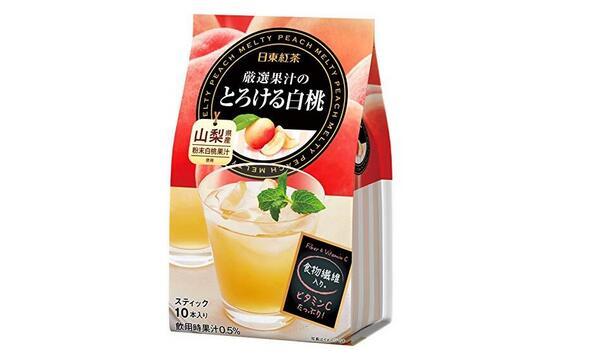 【日本亞馬遜】日東紅茶 白桃水蜜桃紅茶 10支*6袋裝降至1691日元+17積分