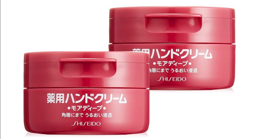 【日本亚马逊】SHISEIDO 资生堂 红罐尿素药用护手霜 100g*2个 日元863(约55元)+9积分