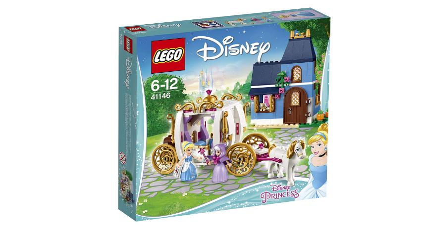 【日本亞馬遜】LEGO 樂高 迪士尼公主系列 灰姑娘的魔法之夜41146 日元4020(約256元)+40積分