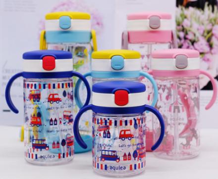 【日本亞馬遜】2019年新款 Richell利其爾 寶寶吸管杯帶手柄學飲杯 200ml/320ml低至1368日元+14積分