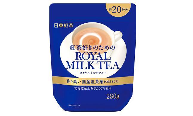 【日本亞馬遜】日東紅茶 皇家奶茶 280g*4袋補貨1813日元+18積分
