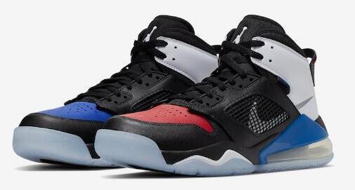 Jordan Mars 270氣墊紅藍鴛鴦大童款籃球鞋特價$104.99