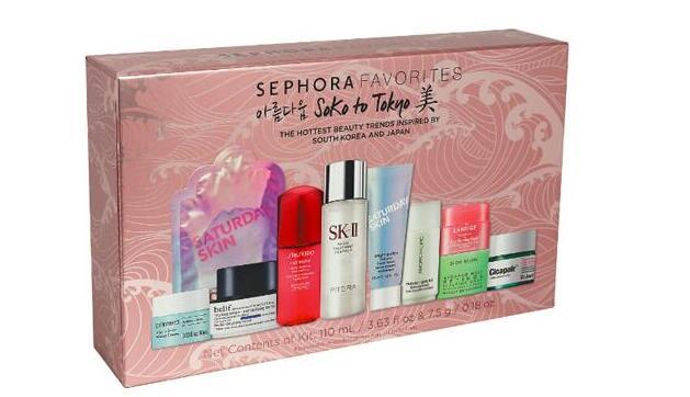 SEPHORA FAVORITES soko to tokyo護膚11件套售價$40(價值$124)
