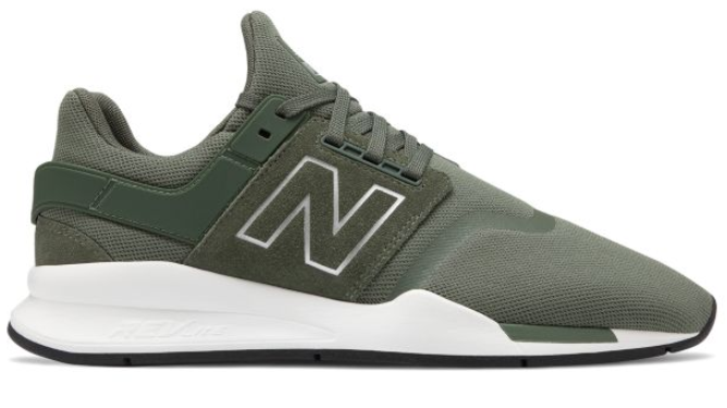 New Balance新百伦 247 男款慢跑鞋凑单折后$27.49