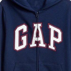 Gap美国官网全场儿童服饰低价 折扣区也参加 套头卫衣$5.58