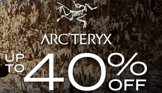 Moosejaw官网Arc'teryx始祖鸟产品低至6折 满额免邮