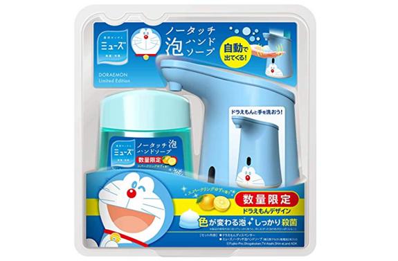 【日亚自营】MUSE缪斯哆啦A梦自动出泡洗手液套装补货1210日元+12积分
