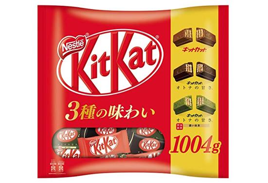 【日亚自营】雀巢 kitkat 威化饼干组合装补货折后2069日元+22积分