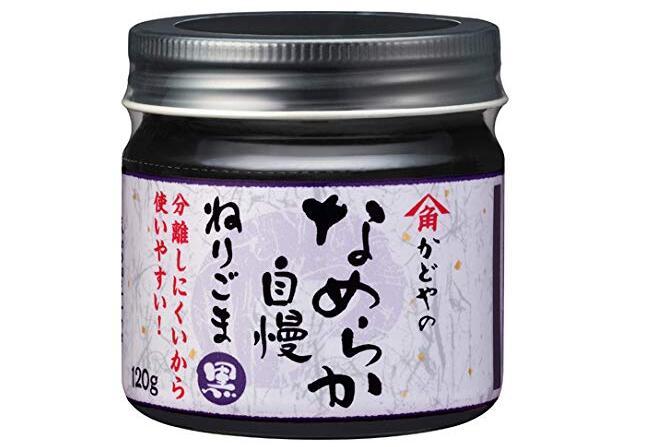 【日本亚马逊】角屋黑芝麻酱 宝宝营养辅食天然无添加含蛋白质/钙 120g降至271日元