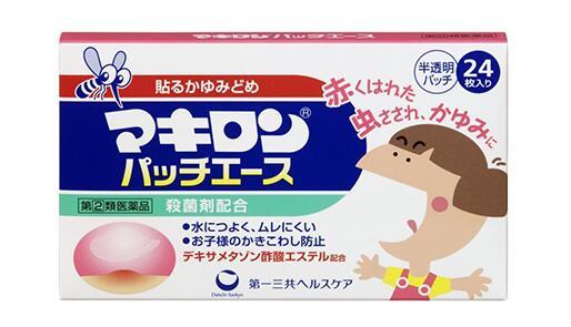 【日本亚马逊】第一三共蚊叮虫咬止痒贴驱蚊贴 24枚降至294日元
