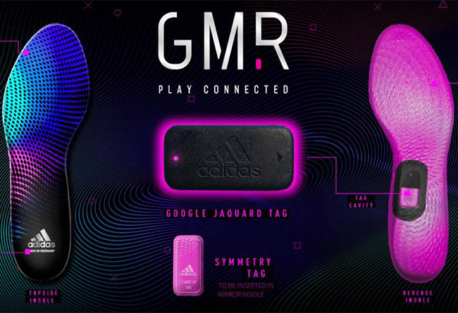 海淘定价35美元!adidas 阿迪达斯发布 GMR 科技鞋垫!