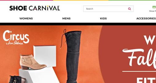 Shoe Carnival美国官网:专业运动鞋、休闲鞋在线海淘网站