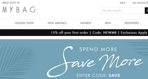 Mybag美国/加拿大官网:英国奢华包包和名牌手袋海淘网站