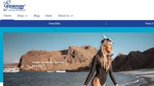 Seavenger美国官网:潜水服、浮潜、靴子和袜子海淘网站