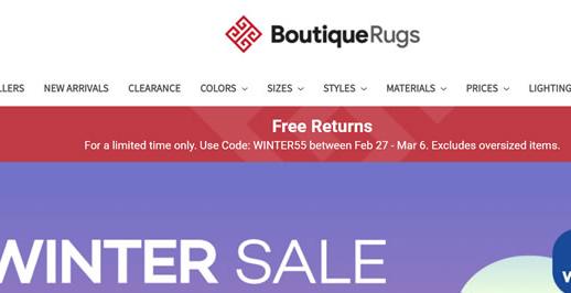 Boutique Rugs美国官网:美国精品地毯在线海淘网站
