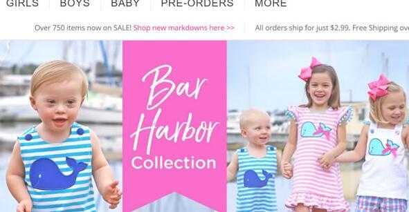 Smocked Auctions美国官网:经典刺绣童装特价海淘网站