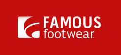 Famous Footwear官网全场鞋履第二件半价,叠加满$50立减$10