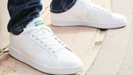 Adidas阿迪达斯Cloudfoam Advantage大童款休闲鞋折后$28.74