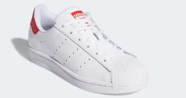 adidas Originals Superstar大童款粉尾贝壳头 海淘折后$41.24