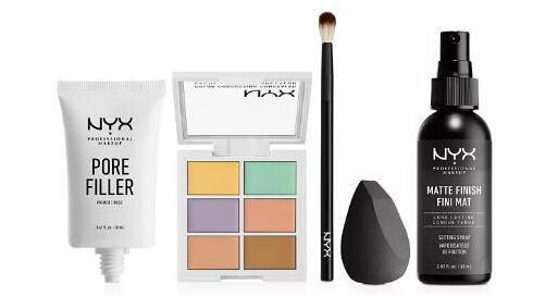 梅西百货美国官网购NYX完美底妆5件套降至2.9折价$10