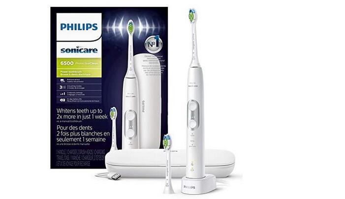 美国亚马逊购Philips Sonicare 6500电动牙刷降至$104.97