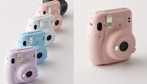 Fujifilm富士Instax Mini 11 Instant拍立得相机 降至好价$59