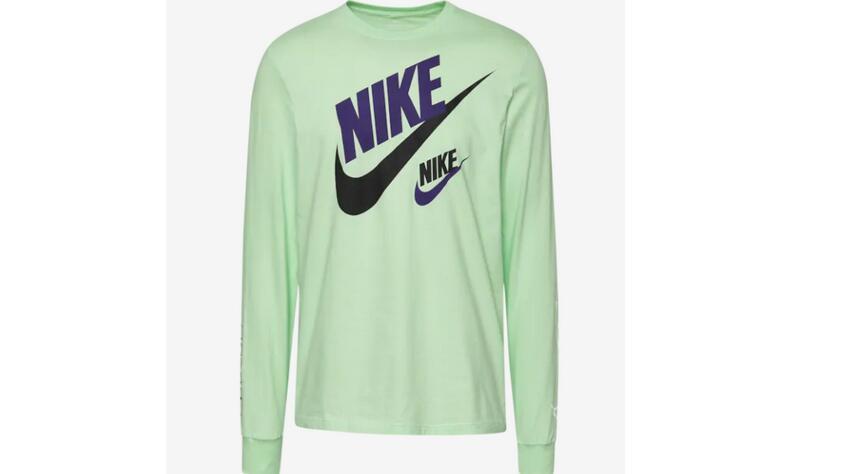 新低!Nike 2 Futura男士长袖T 多色凑单折后价$8.32