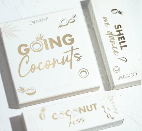 Colourpop卡拉泡泡Going Coconuts椰子盘试色测评最新