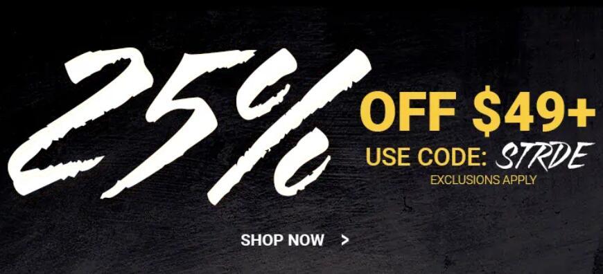 Eastbay官网海淘优惠券/折扣码汇总,精选运动鞋服满$49额外75折