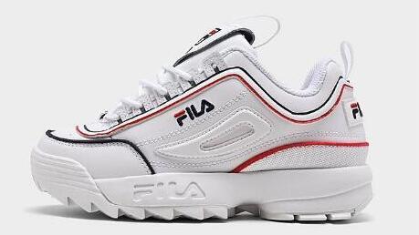 FILA斐乐 Disruptor II 2代 大童款老爹鞋 降至4.2折价$25