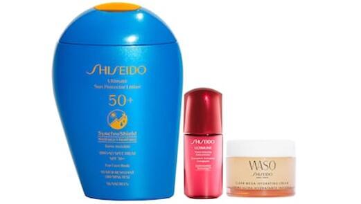 Shiseido资生堂SPF x Active Play蓝胖子套装(价值$82)售价$49+叠加满减