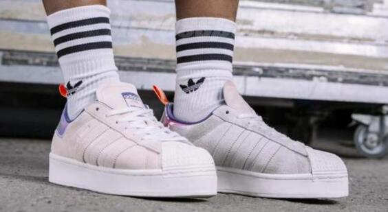 adidas Girls Awesome联名Superstar鸳鸯女士贝壳头6折$66