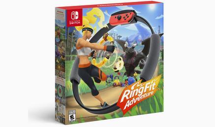 Nintendo Switch任天堂健身环大冒险 实体版 特价$79.99