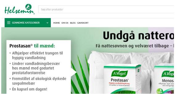 丹麦海淘: 生活日用品helsemin丹麦海淘网站!