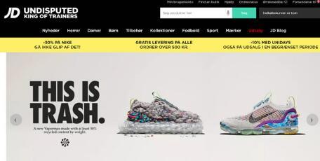 丹麦哪个网站运动品牌比较多? 运动时尚JD Sports丹麦海淘网站!