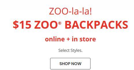 Skip Hop官网精选动物图案儿童背包$15促销