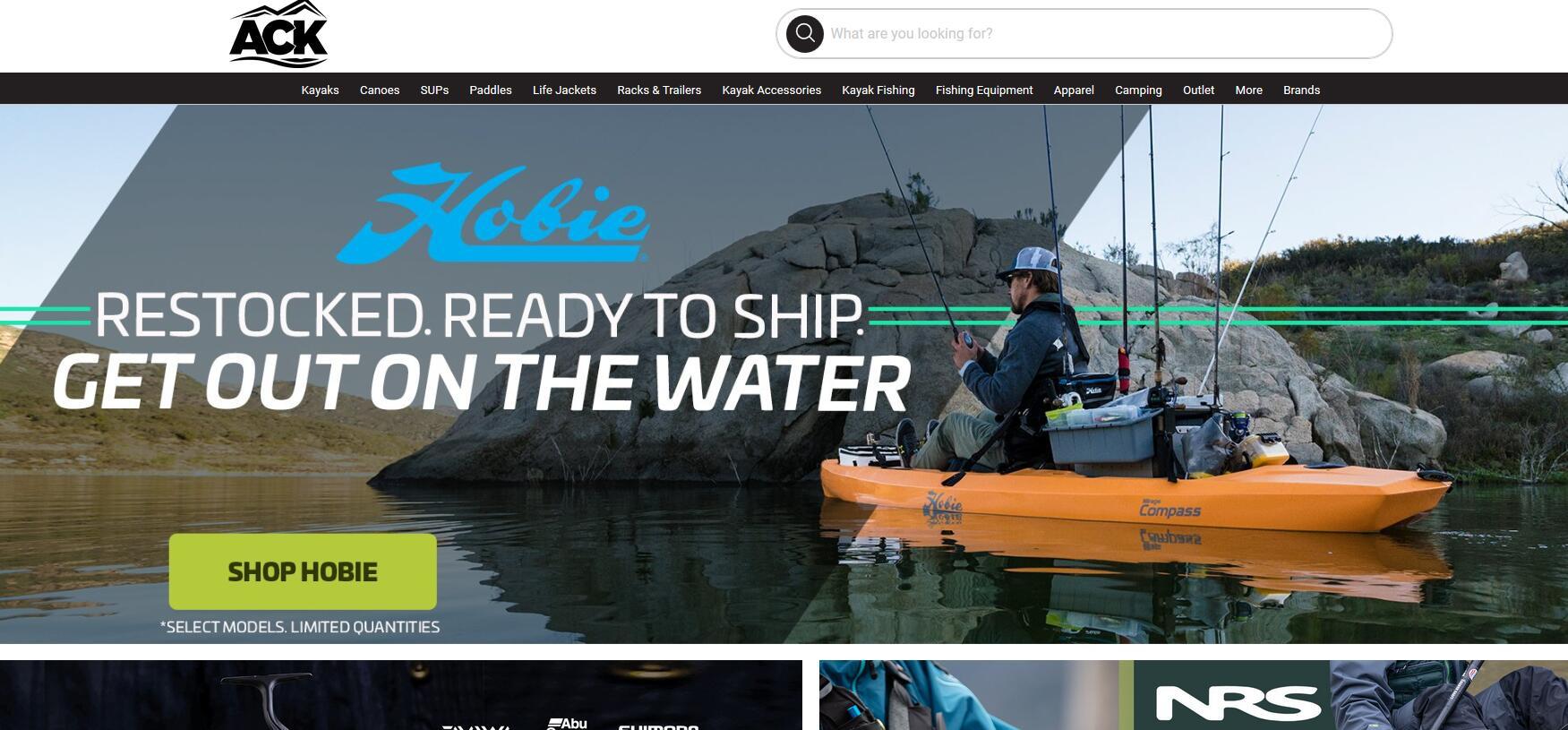 Austin Canoe & Kayak美国官网 ACK户外运动用品海淘网站