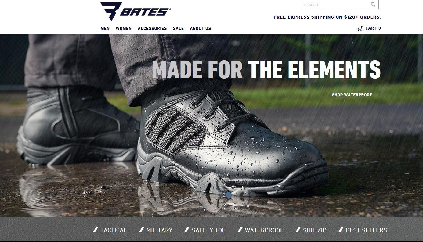 BatesFootwear美国官网 BatesFootwear美国官方网站