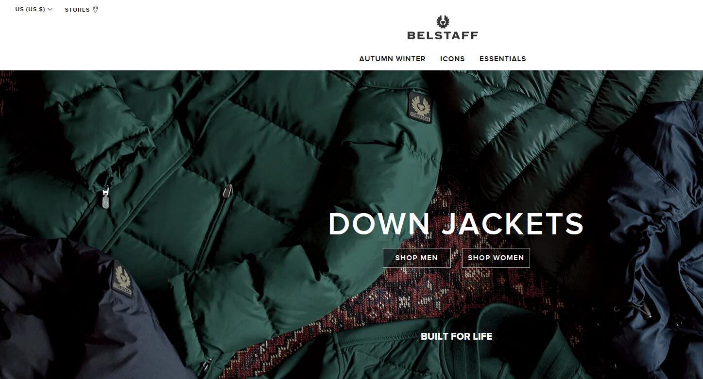 Belstaff美国官网 Belstaff防水外套美国官方网站