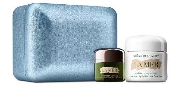 La mer海蓝之谜神奇面霜套盒(含60ml+15ml眼霜) 85折$391