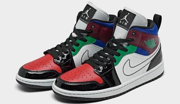 Air Jordan 乔丹 RETRO 1 MID中帮女士篮球鞋 售价$125