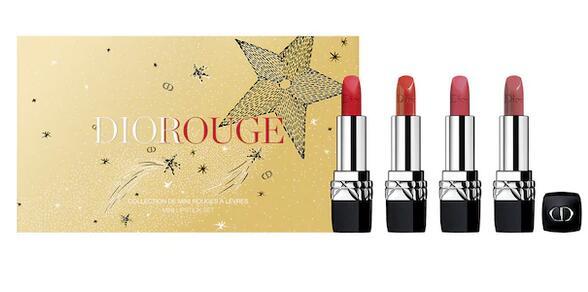 Dior迪奥神仙圣诞迷你口红套装售价$50,会员再8折