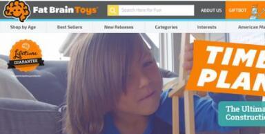美国海淘Fat Brain Toys玩具网站推荐, 给孩子美好童年!