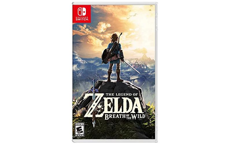 《塞尔达传说:旷野之息》Switch 实体游戏卡带 特价$39.99