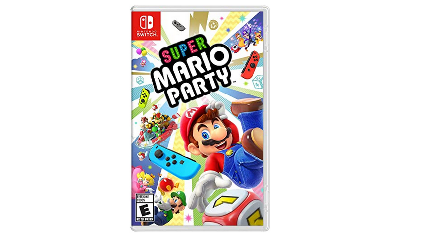 《超级马里奥派对》Nintendo Switch 实体版折后价$39.99