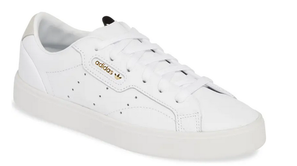 Adidas阿迪达斯Sleek纯色女款板鞋 降至5折价$39.99